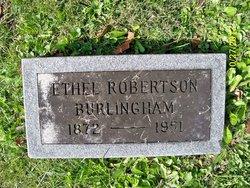 Ethel Burt <i>Robertson</i> Burlingham