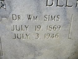 Dr William Sims Belyeu, Sr