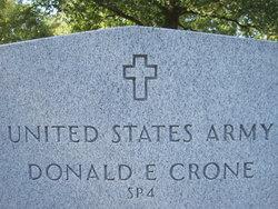 Donald E Crone