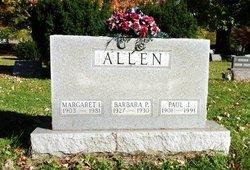 Margaret Irena <i>Brinker</i> Allen