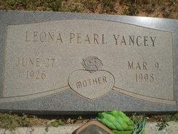 Leona Pearl <i>Ragland</i> Yancey