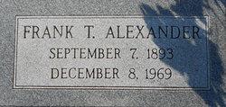 Frank T. Alexander