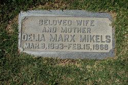 Delia <i>Marx</i> Mikels
