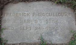 Frederick F McCullough