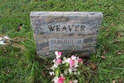 Dorothy Helen <i>Halliwell</i> Weaver