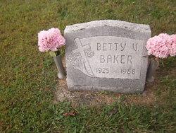 Betty V <i>Robbins</i> Baker