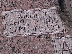 Willie F Andel