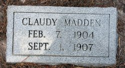 Claudy Madden
