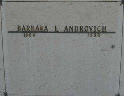 Barbara Emma <i>Beyer</i> Androvich
