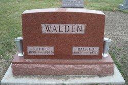 Ralph Dewey Walden