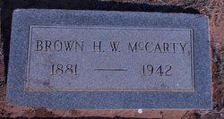 Brown Horton McCarty