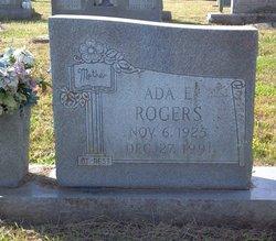 Ada Eloise <i>Morgan</i> Rogers