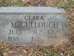 Clara <i>Bonds</i> McCullough