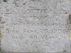 Lottie <i>Lajoie</i> Archambeau