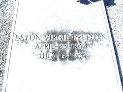 Eston Virgil Freeman