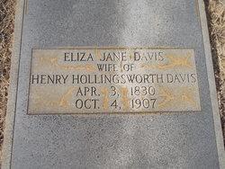 Eliza Jane <i>Gaddy</i> Davis