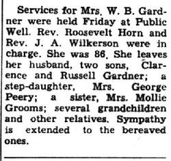 Cordelia <i>Pleasant</i> Gardner