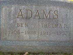 Thelma R <i>Boothe</i> Adams