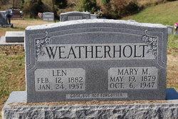Mary M. <i>Tabeling</i> Weatherholt