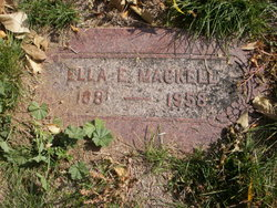 Ella E. <i>Williams</i> Mackell