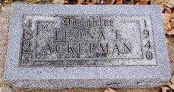 Leona E. Ackerman
