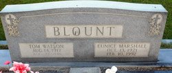 Eunice <i>Marshall</i> Blount