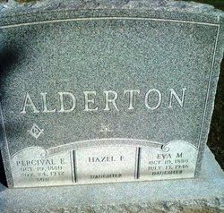 Eva M Alderton