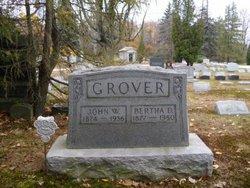Bertha E <i>Drasher</i> Grover
