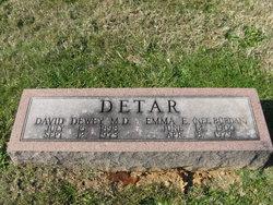 Dr David D. Detar