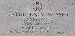 LCDR Kathleen M. Musser