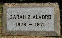 Sarah Z <i>Johnson</i> Alvord