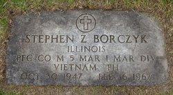 PFC Stephen Zbigniew Borczyk