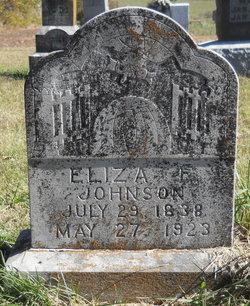Eliza <i>Estes</i> Johnson