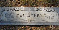 Lucille E. <i>Schaaf</i> Gallagher