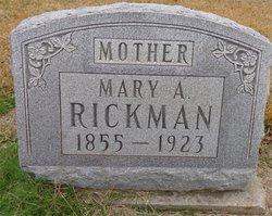 Mary Ann <i>Harper</i> Rickman