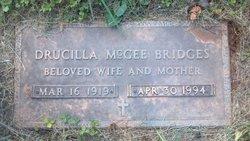 Elizabeth Drucilla <i>McGee</i> Bridges