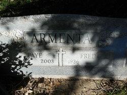 Faye M <i>Aragon</i> Armenta