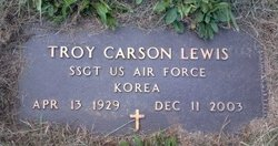 Troy Carson TC Lewis