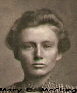 Mary Elizabeth <i>McClung</i> Hudson