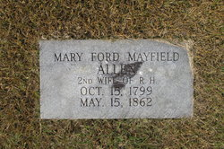 Mary Ford <i>Mayfield</i> Allen