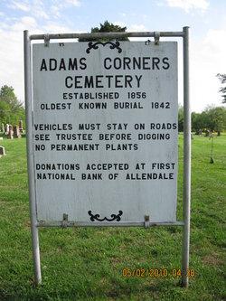 Adams Corner Cemetery
