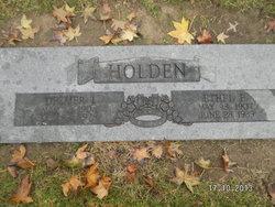 Ethel Elizabeth <i>Williams</i> Holden