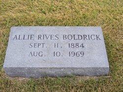 Mary Althair Hill Allie <i>Rives</i> Boldrick