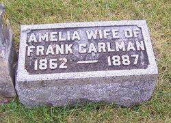 Amelia Minnie <i>Wickman</i> Carlman
