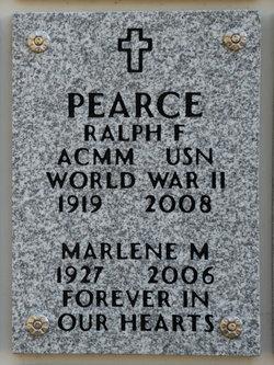 Ralph F Pearce