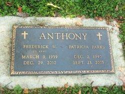 Patricia Ellen Trisha <i>Parks</i> Anthony