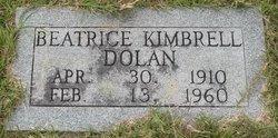 Beatrice <i>Kimbrell</i> Dolan