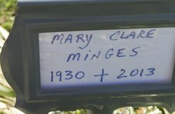 Mary Clare <i>Donnelly</i> Minges
