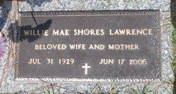 Willie Mae <i>Shores</i> Lawrence