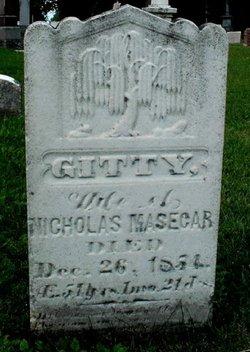 Gertrude Gitty <i>Yerks</i> Masecar